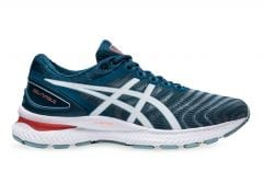 ASICS GEL NIMBUS 22 (2E) MENS LIGHT STEEL MAGNETIC BLUE