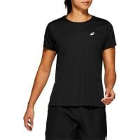 ASICS SILVER SS TOP WOMENS BLACK