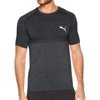 PUMA EVOKNIT BASIC TEE MENS BLACK