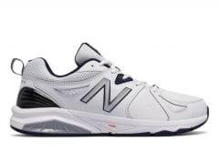 NEW BALANCE MX857WN V2 (6E) MENS WHITE NAVY
