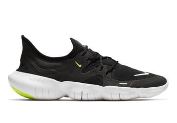 NIKE FREE RN 5.0 WOMENS  BLACK WHITE-ANTHRACITE-VOLT