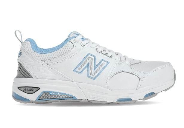 NEW BALANCE WX857WB (2E) WOMENS WHITE BLUE