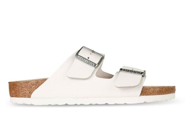 BIRKENSTOCK ARIZONA SMOOTH LEATHER MENS WHITE