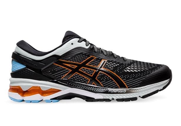 ASICS GEL-KAYANO 26 MENS BLACK POLAR SHADE