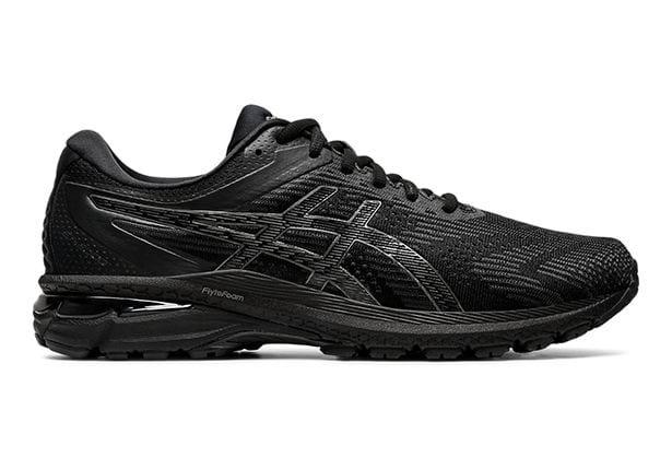 ASICS GT-2000 8 (2E) MENS BLACK BLACK