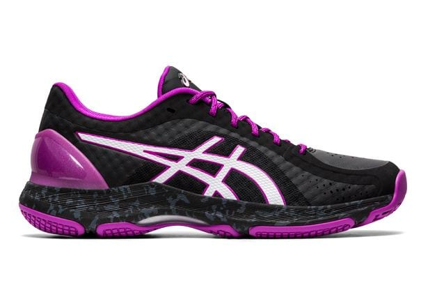 ASICS NETBURNER SUPER FF WOMENS BLACK WHITE