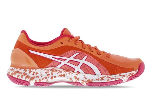 ASICS NETBURNER SUPER FF WOMENS FLASH CORAL WHITE