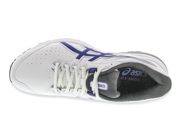 Complejo Elección salón  ASICS GT 1000 LE (2E) MENS WHITE ASICS BLUE | White Mens Walking Support  Shoes