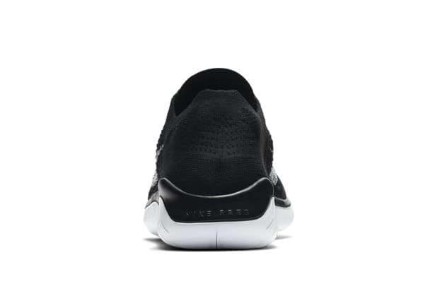 Escoger Faringe Resistencia  NIKE FREE RN FLYKNIT 2018 MENS BLACK WHITE | Black Mens Cushion Running  Shoes