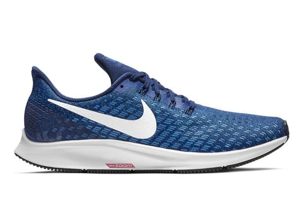 NIKE AIR ZOOM PEGASUS 35 MENS INDIGO FORCE WHITE-PHOTO BLUE-BLUE VOID
