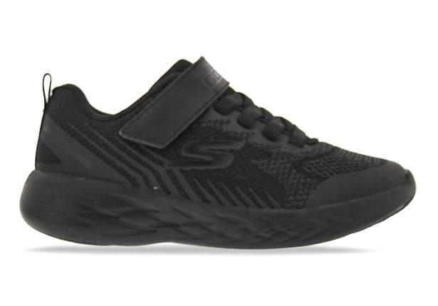 SKECHERS GO RUN 600 BAXTUX (TD) KIDS BLACK BLACK