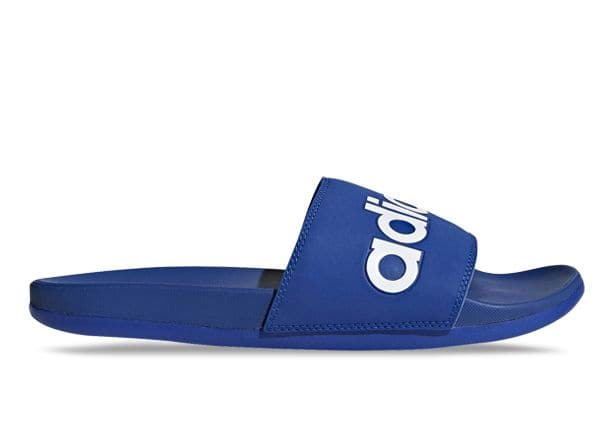 ADIDAS ADILETTE COMFORT MENS COLLEGIATE ROYAL WHITE COLLEGIATE ROYAL