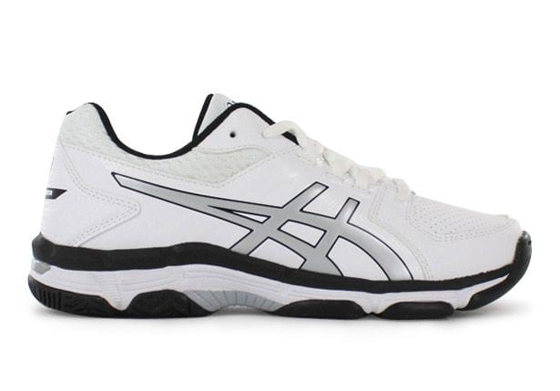 ASICS GEL-540TR LEATHER GS KIDS LEATHER WHITE SILVER BLACK