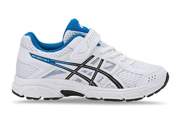 ASICS CONTEND 4 (PS) KIDS WHITE RACE
