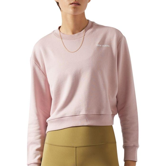 NEW GUARD ECLIPSE SWEATER WOMENS ROSE