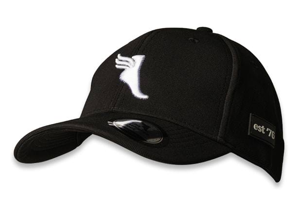 THE ATHLETES FOOT OTTOMAN BASEBALL CAP BLACK WHITE