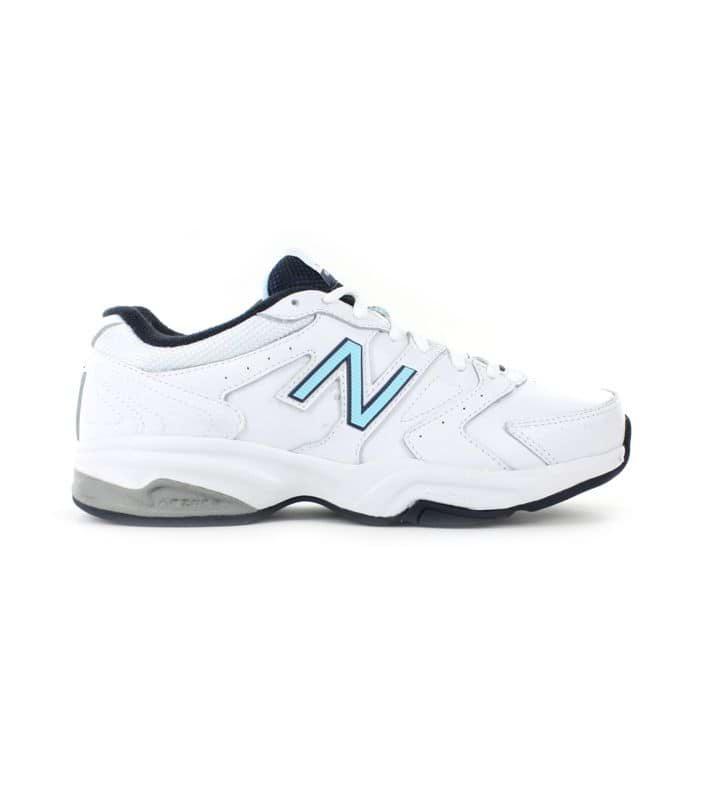 NEW BALANCE WX624WB V3 (D) WOMENS WHITE BLUE
