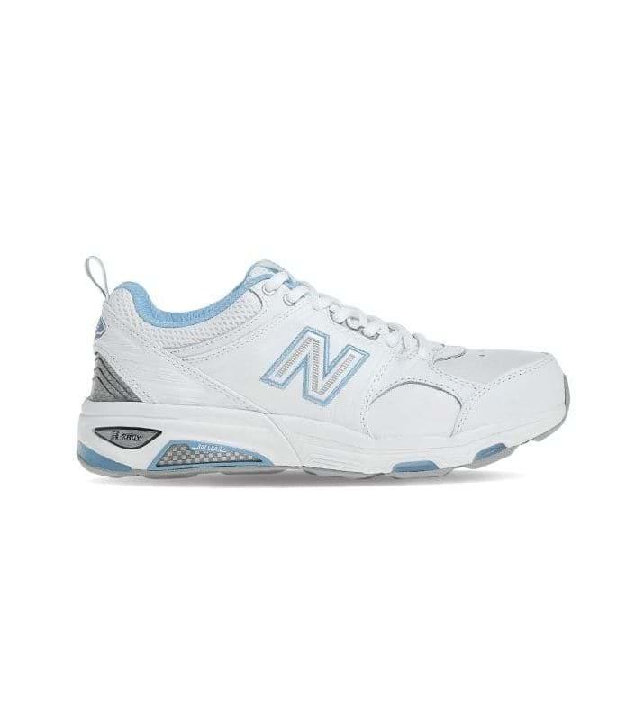 NEW BALANCE WX857 (D) WOMENS WHITE BLUE