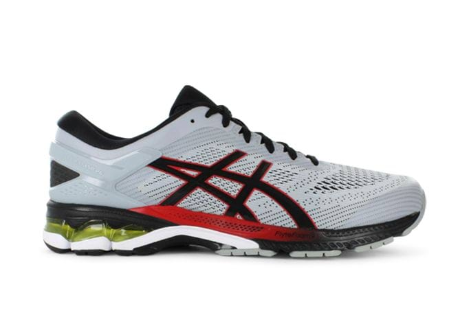 ASICS GEL-KAYANO 26 MENS PIEDMONT GREY BLACK