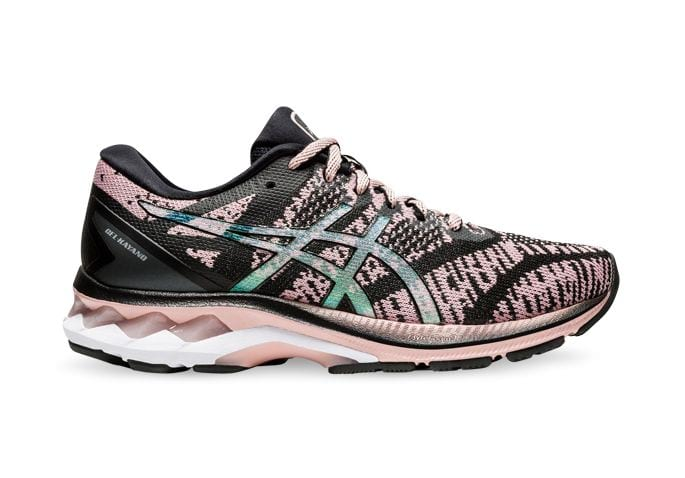 ASICS GEL KAYANO 27 MK WOMENS BLACK GINGER PEACH