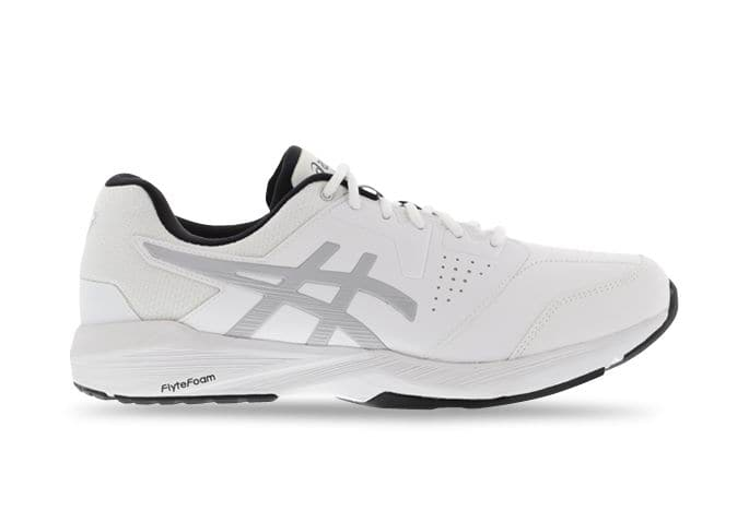ASICS GEL QUEST FF LE WIDE (2E) MENS WHITE MID GREY