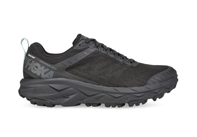 HOKA ONE ONE CHALLENGER ATR 5 GORE-TEX WOMENS BLACK ANTIGUA SAND