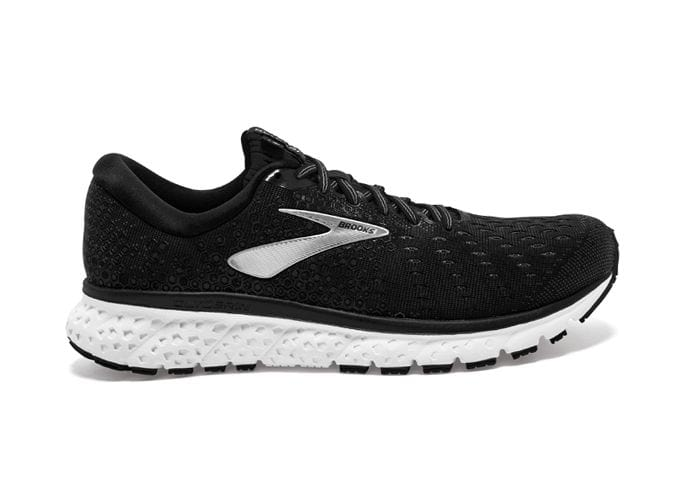 BROOKS GLYCERIN 17 WOMENS BLACK WHITE