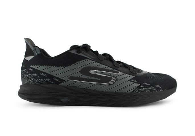 SKECHERS GO RUN 5 MENS BLACK