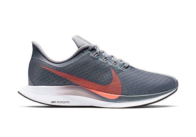 NIKE PEGASUS 35 TURBO WOMENS COOL GREY LAVA GLOW DARK GREY