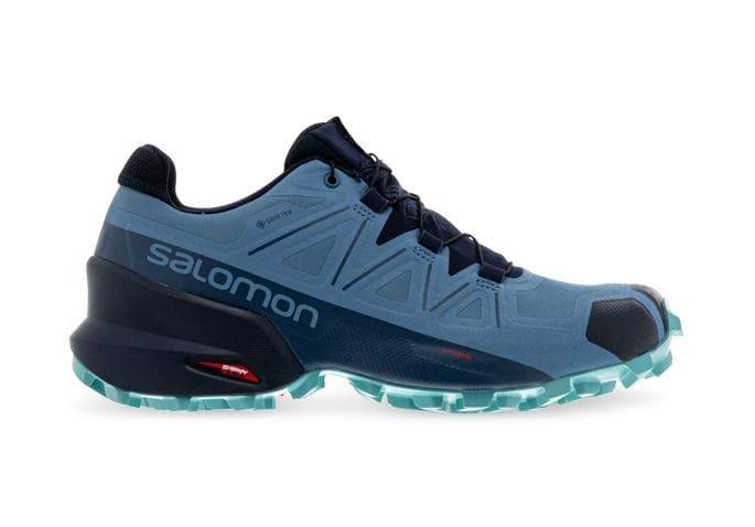 SALOMON SPEEDCROSS 5 GORE-TEX WOMENS COPEN BLUE NAVY MEADOWBROOK