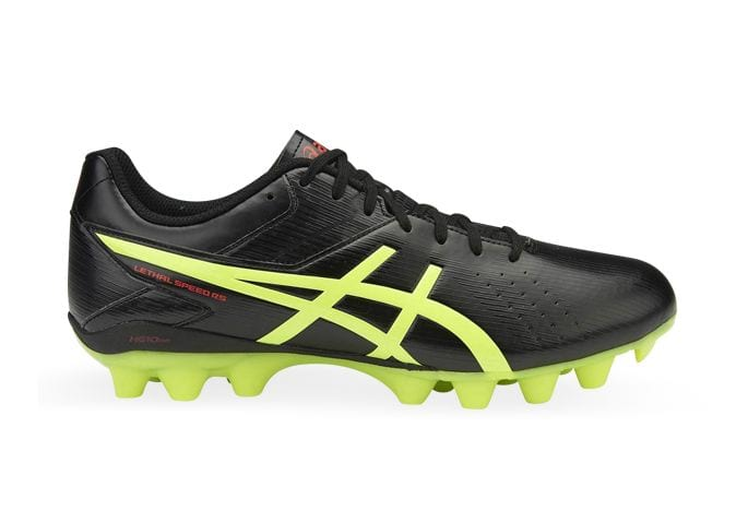ASICS LETHAL SPEED RS MENS BLACK SAFETY YELLOW VERMILION