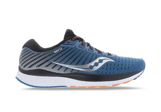 SAUCONY GUIDE 13 MENS BLUE SILVER