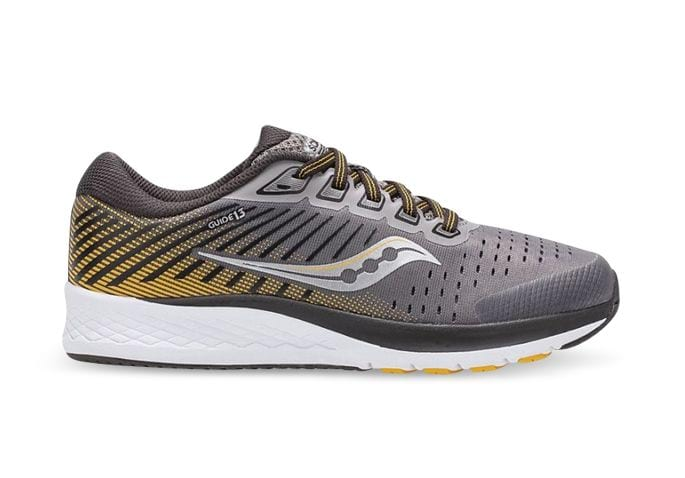 SAUCONY GUIDE 13 (GS) KIDS GREY YELLOW