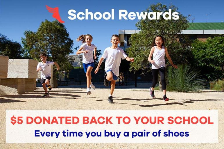 School Rewards at The Athlete's Foot