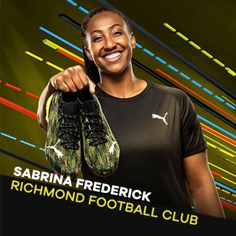 Puma Ambassador Sabrina Frederick