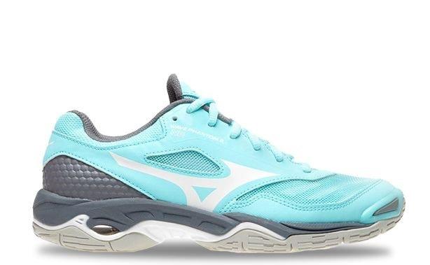 Sky Blue Netball Shoe