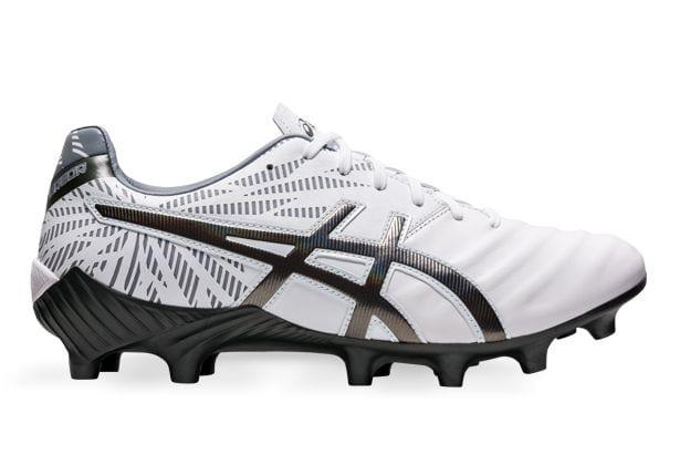White ASICS football boot